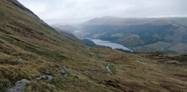 At least we can see Loch Lubnaig on our way back.